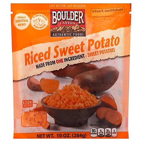 Boulder Canyon Riced Sweet Potato - 10 Oz