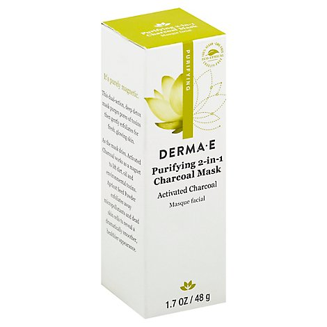 Derma E Mask Charcoal Purifying - 1.7 Oz