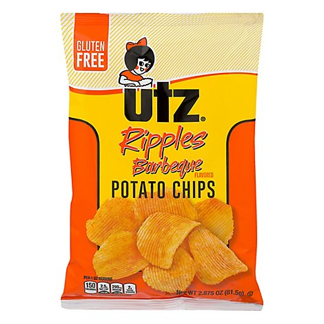 Utz Barbeque Potato Chips - 2.875 Oz