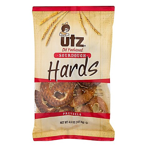 Utz Old Fashioned Sourdough Hard Pretzels - 5.5 Oz