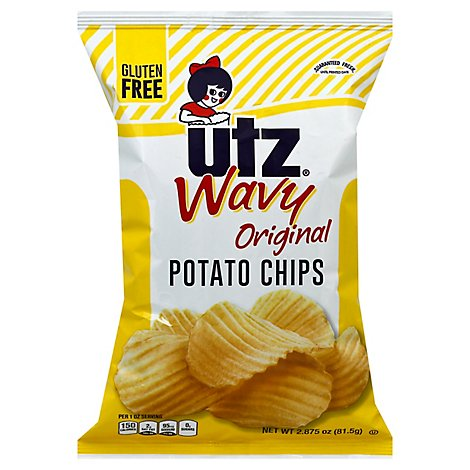 Utz Wavy Potato Chips - 2.875 Oz