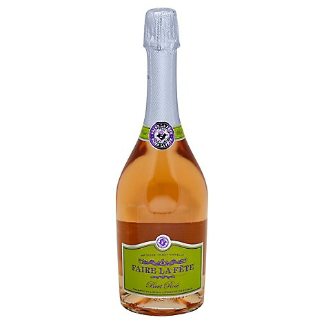 Faire La Fete Wine Brut Rose - 750 Ml