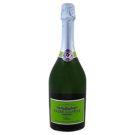 Faire la Fete Wine Sparkling Brut - 750 Ml