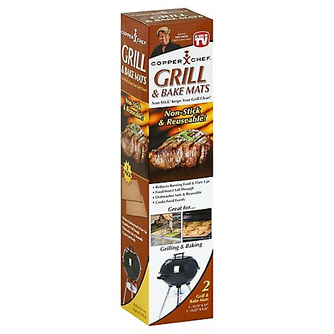 Trist Copper Chef Grill & Bake Mat - Each