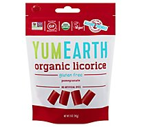 YumEarth Licorice Pomegranate - 5 Oz