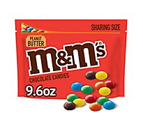 M&Ms Peanut Butter Milk Chocolate Sharing Size 9.6 Oz