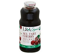 L & A Juice All Tart Cherry Organic - 32 Fl. Oz.