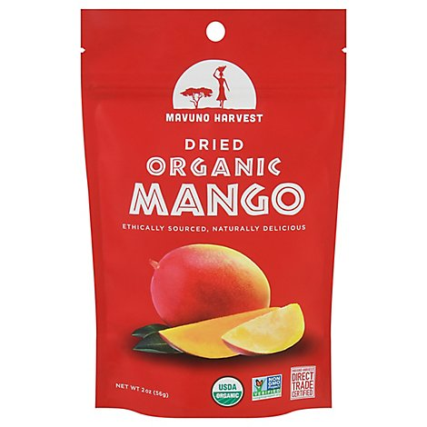Mavuno Harvest All Natural Dried Mango Organic - 2 Oz