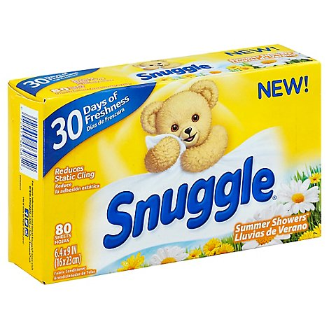 Snuggle Fabric Conditioner Summer Showers Box - 80 Count