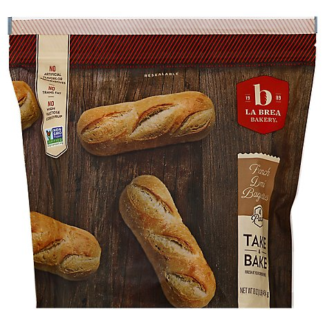 French Demi Baguette Take&Bake - 4 Oz