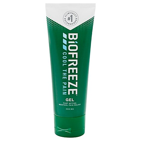 Biofreeze Cold Therapy Pain Relief Gel - 3 Fl. Oz.