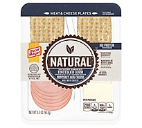 Oscar Mayer Natural Ham Uncured Hickory Smoked Monterey Jack Cheese - 3.3 Oz