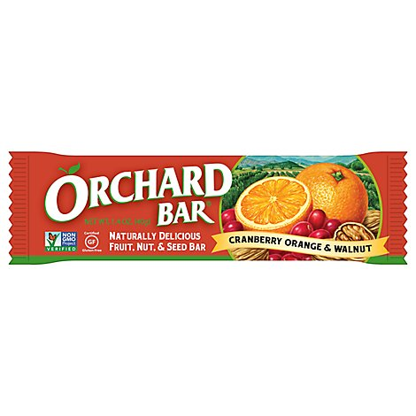 Liberty Orchard Bar Cranberry Orange Walnut - 1.4 Oz