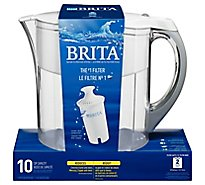 Brita Water Filtration System Pitcher - Each