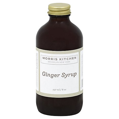 Morris Kitchen Ginger Syrup - 8 Oz