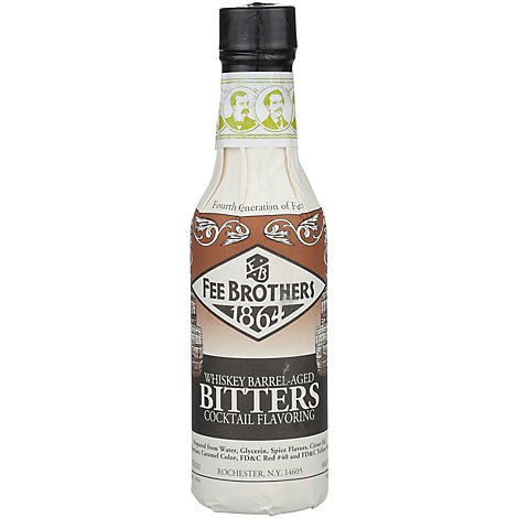 Fee Brothers Whiskey Barrel Aged Bitters - 4 Oz