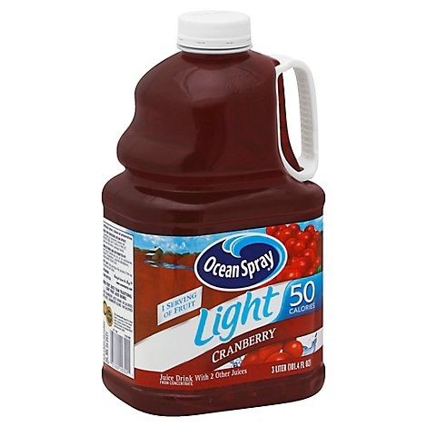 Ocean Spray Light Cranberry Juice Cocktail - 3 Liter
