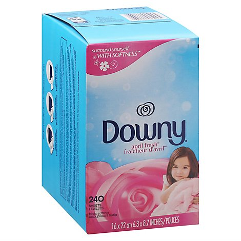 Downy Fabric Softener Dryer Sheets April Fresh - 240 Count