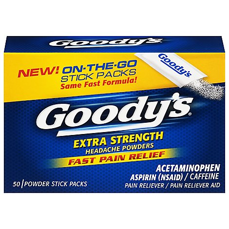 Goodys Powder Analgesics - 50 Count