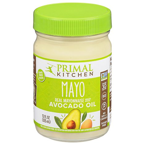 Primal Kitchen Mayo Avocado Oil - 12 Oz