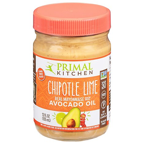 Primal Kitchen Mayo Chipotle Lime - 12 Oz