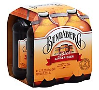 Bundaberg Diet Ginger Beer - 4-12.7 Fl. Oz.