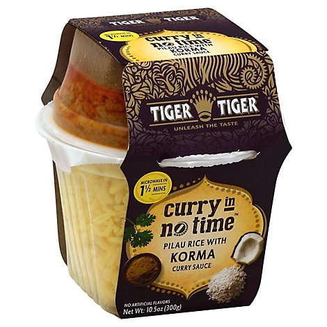 Tiger Tiger Entree Korm Rice & Curry - 10.5 Oz