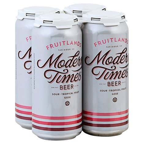 Modern Times Fruitlands In Cans - 4-16 Fl. Oz.