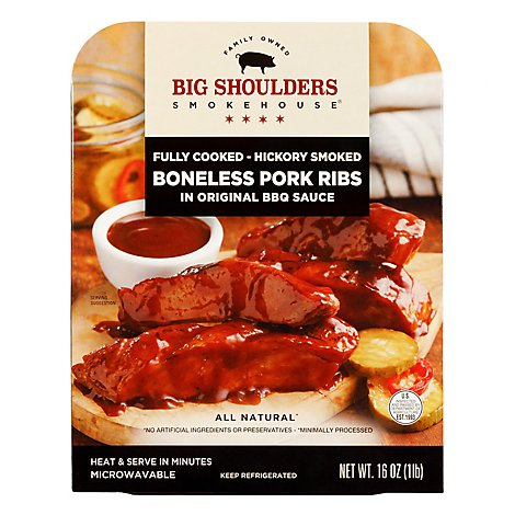 Big Shoulders Boneless Rib - 16 Oz