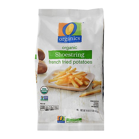 O Organics French Fries Shoestring - 16 Oz