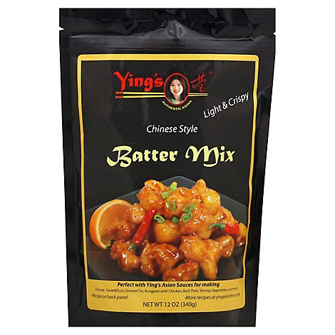 Yings Mix Batter Crspy Lght - 12 Oz