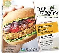 Dr. Praeger Burger Veg Mushroo - 10 Oz