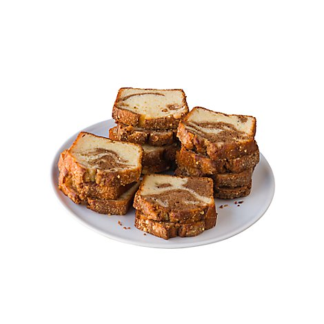Bakery Cake Loaf Sliced Cinnamon - Each
