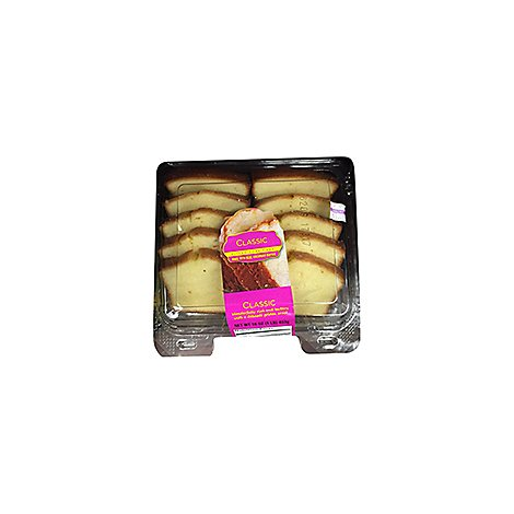 Bakery Cake Loaf Sliced Classic - Each