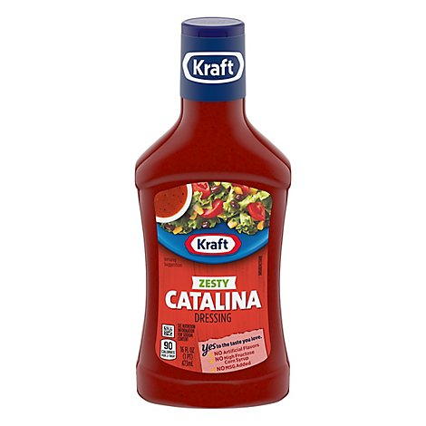 Kraft Dressing Zesty Catalina - 16 Fl. Oz.