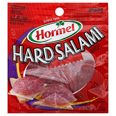 Hormel Pillow Pack Hard Salami - 5 Oz