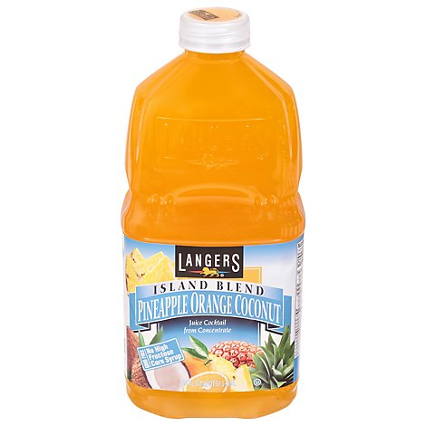 Langers Pineapple Orange Coconut - 64 Fl. Oz.