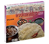 Indianlife Papadum Pln - 4.23 Oz