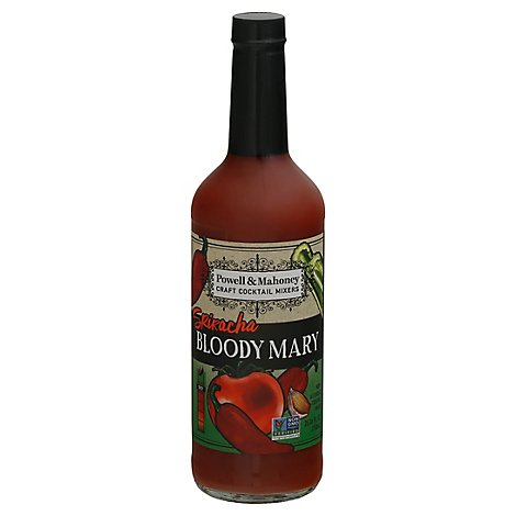 Powell & Mahoney Sriracha Bloody Mary Mixer - 750 Ml
