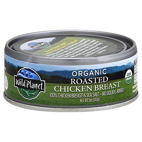 Wild Planet Chicken Breast Organic Roasted - 5 Oz