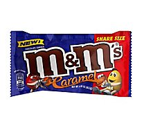 M&Ms Caramel Chocolate Candy Pouch Share Size 2.83 Oz