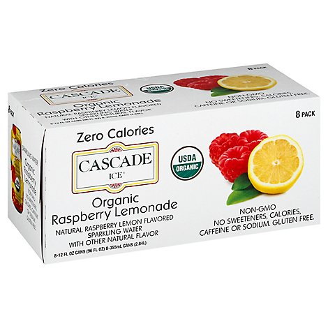 Cascade Ice Organic Raspberry Lemonade - 8-12 Fl. Oz.
