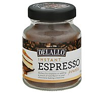 DeLallo Espresso Powder Instant Jar - 1.94 Oz