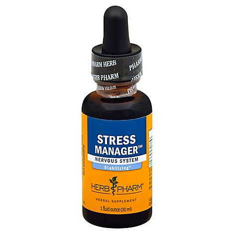 Herb Pharm Stress Manager Nervous System - 1 Fl. Oz.