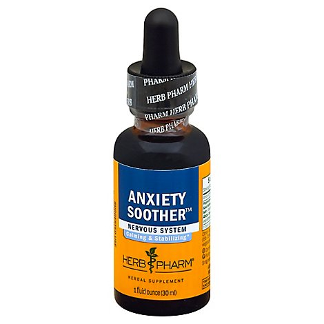 Herb Pharm Anxiety Soother Nervous System - 1 Fl. Oz.
