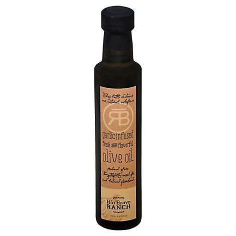 Rio Bravo Ranch Olive Oil Fresh And Flavorful Garlic Infused - 8.45 Fl. Oz.