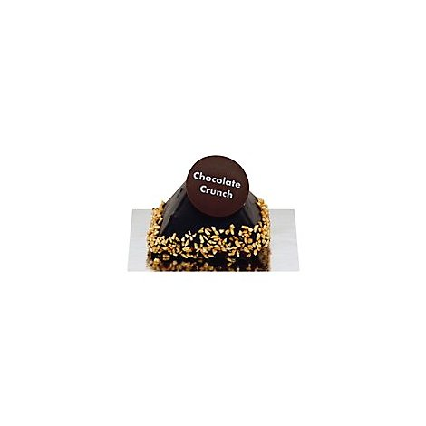Bakery Pavilions Chocolate Crunch Pyramid 3 Inch - Each