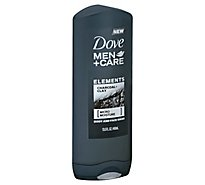Dove Men+Care Body + Face Wash Elements Charcoal + Clay - 13.5 Fl. Oz.