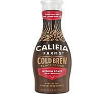 Califia Cold Brew Coffee Pure Black Unsweetened - 48 Fl. Oz.