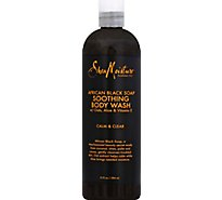 SheaMoisture Body Wash Soothing African Black Soap - 13 Fl. Oz.